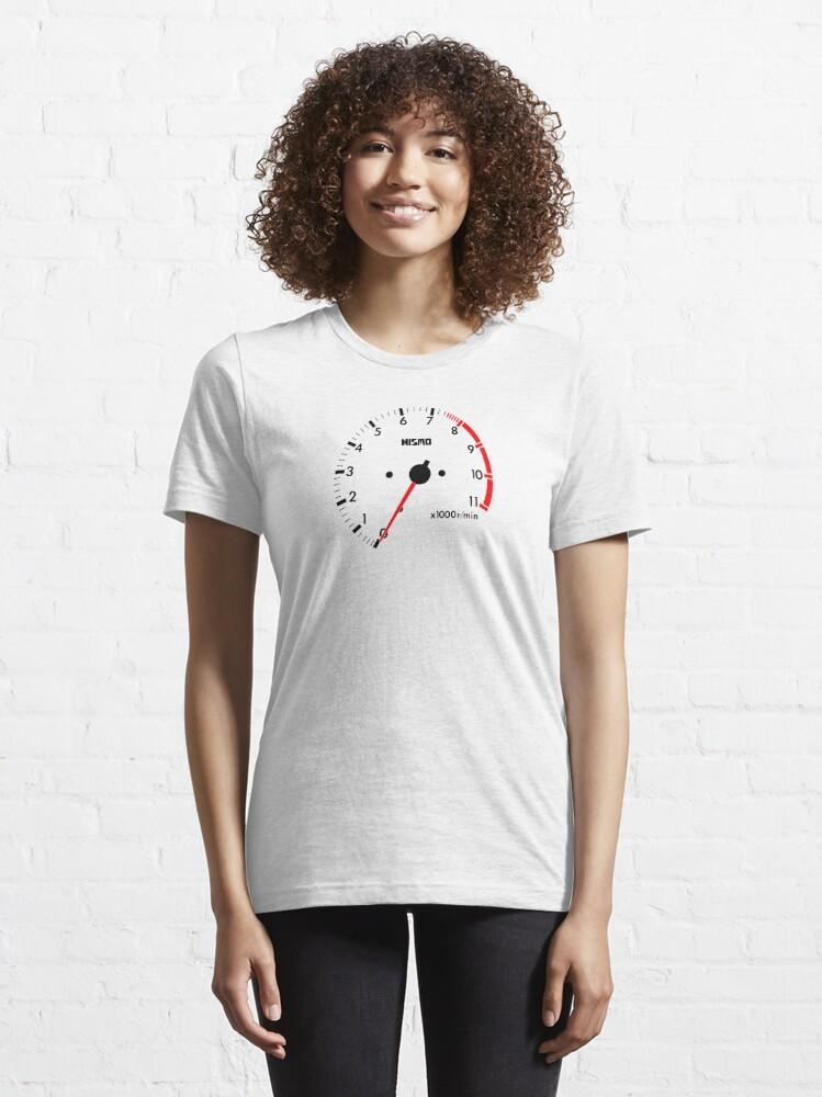 Alternative Ansicht von NISSAN スカイライン (NISSAN Skyline) R32 NISMO rev counter Essential T-Shirt