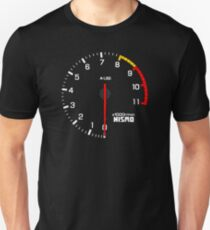 NISSAN スカイライン (NISSAN Skyline) R33 NISMO rev counter Slim Fit T-Shirt