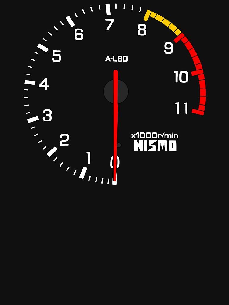 NISSAN スカイライン (NISSAN Skyline) R33 NISMO rev counter von officialgtrch