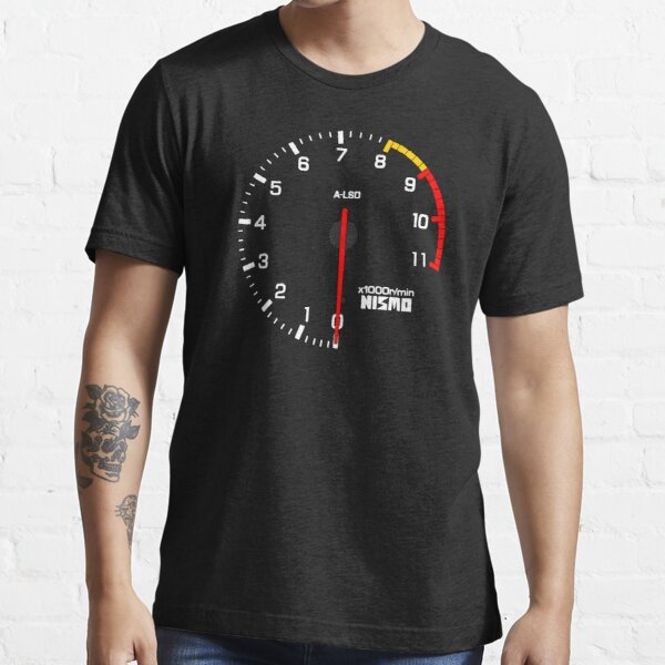 NISSAN スカイライン (NISSAN Skyline) R33 NISMO rev counter Essential T-Shirt