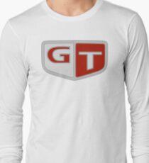 NISSAN スカイライン (NISSAN Skyline) GT Logo Langarmshirt