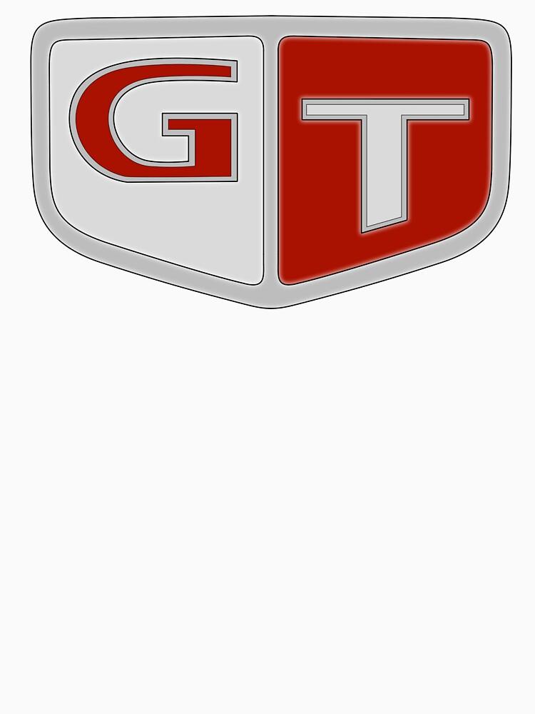 NISSAN スカイライン (NISSAN Skyline) GT Logo von officialgtrch