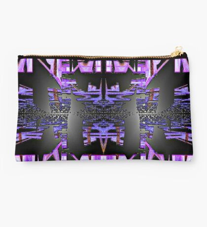 Bubble Gum Abstract Art III Studio Pouch