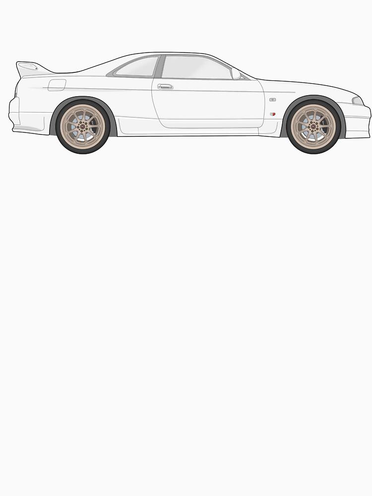 Nissan Skyline R33 GT-R (side) von officialgtrch