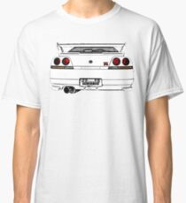 Nissan Skyline R33 GT-R (back) Classic T-Shirt