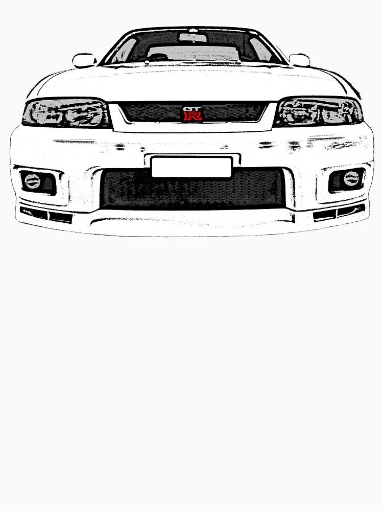 Nissan Skyline R33 GT-R (front) von officialgtrch