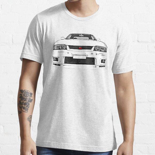 Nissan Skyline R33 GT-R (front) Essential T-Shirt