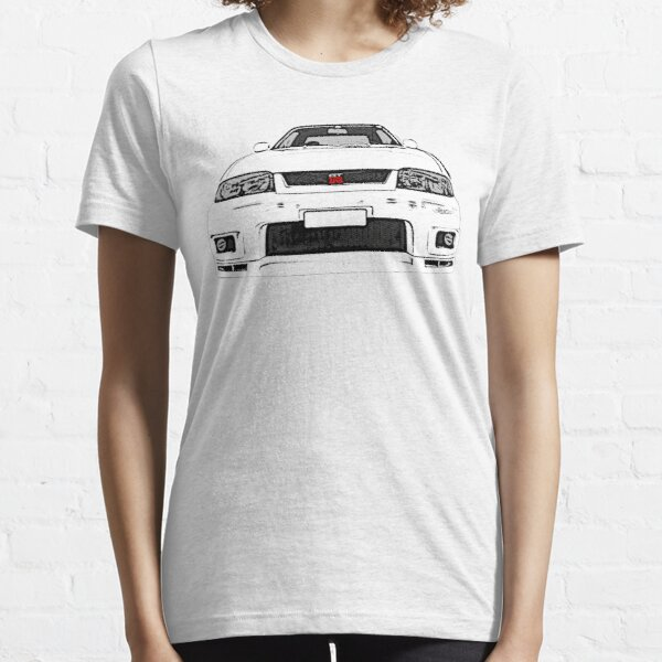 Nissan Skyline R33 GT-R (front) Essential T-Shirt