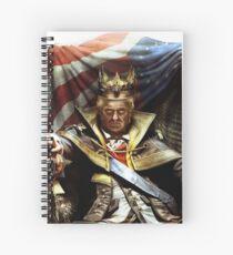Emperor Trump Spiral Notebook