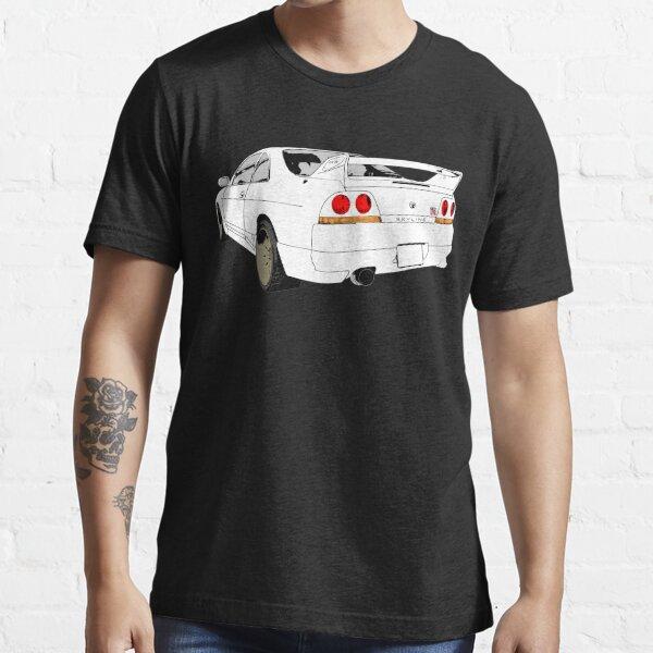 Nissan Skyline R33 GT-R (semi back) Essential T-Shirt