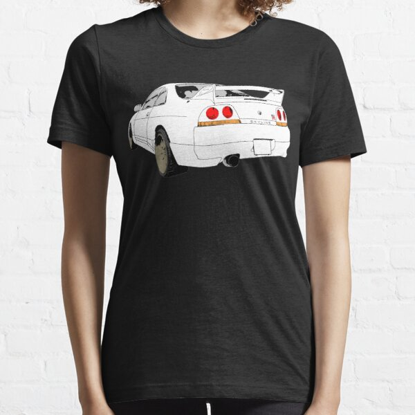 Nissan Skyline R33 GT-R (semi back) Essential T-Shirt
