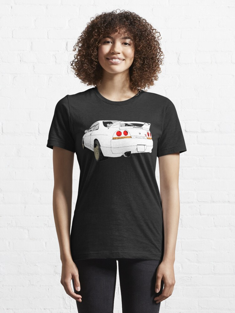 Alternative Ansicht von Nissan Skyline R33 GT-R (semi back) Essential T-Shirt