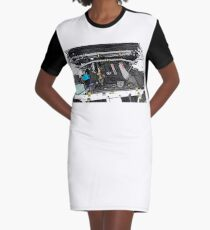 RB26DETT Graphic T-Shirt Dress