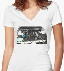 RB26DETT Shirt mit V-Ausschnitt