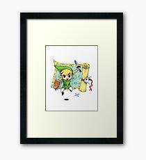 Toon Link Framed Print