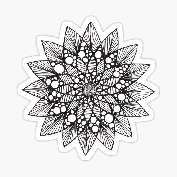 Mandala #1 Sticker