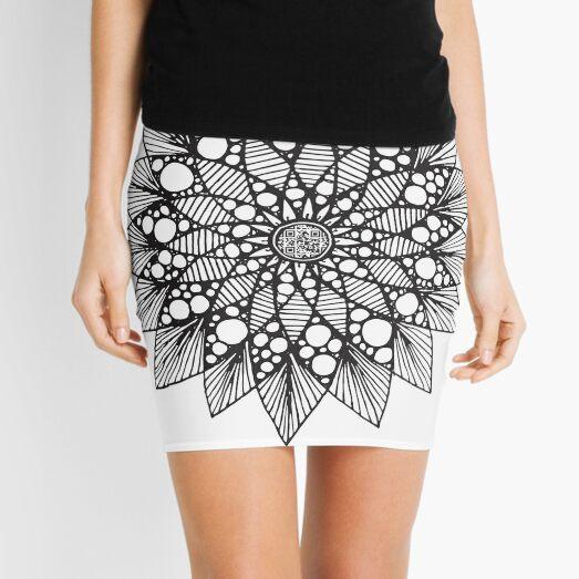 Mandala #1 Mini Skirt