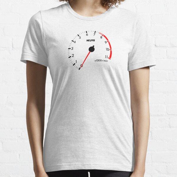 NISSAN スカイライン (NISSAN Skyline) R32 NISMO rev counter [alternative version] Essential T-Shirt