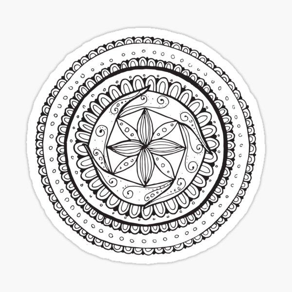 Mandala #2 Sticker