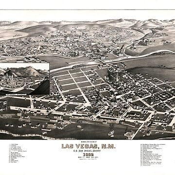 Las Vegas - New Mexico - 1882 by paulrommer