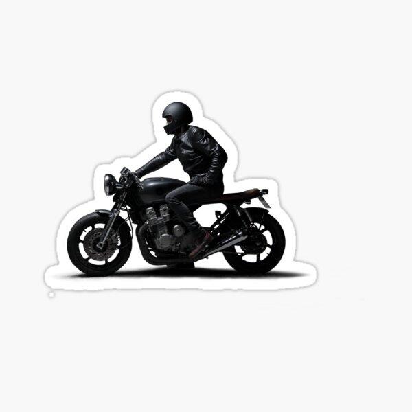 Cafe Racer Motor Sticker