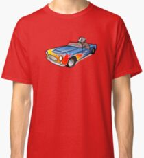 Dog in car Classic T-Shirt