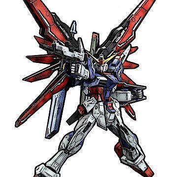 Destiny Gundam by saintism