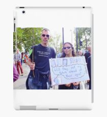 Good thinking. iPad Case/Skin