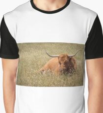 Highland Cattle Cow Graphic T-Shirt