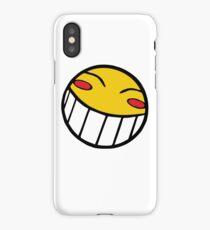 Cowboy Bebop Radical Ed Smiley Face iPhone Case/Skin