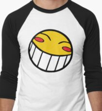 Cowboy Bebop Radical Ed Smiley Face Men's Baseball ¾ T-Shirt