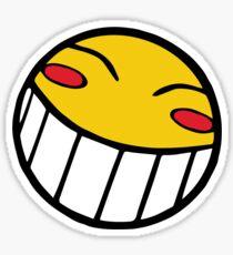 Pegatina Cowboy Bebop Radical Ed Smiley Face