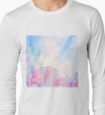 Watercolour abstract landscape painting Long Sleeve T-Shirt