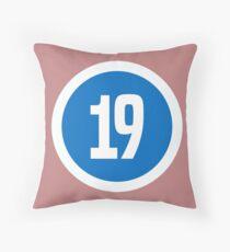19 Throw Pillow