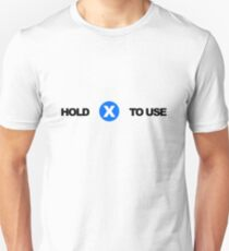 Hold X To Use T-Shirt