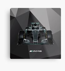 F1 Mercedes 2016 Metal Print