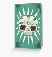 Sugar skull II Greeting Card