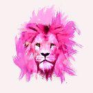 Pink Lion by levman