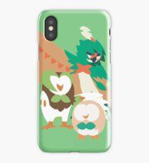 Rowlet Evolution iPhone Case/Skin