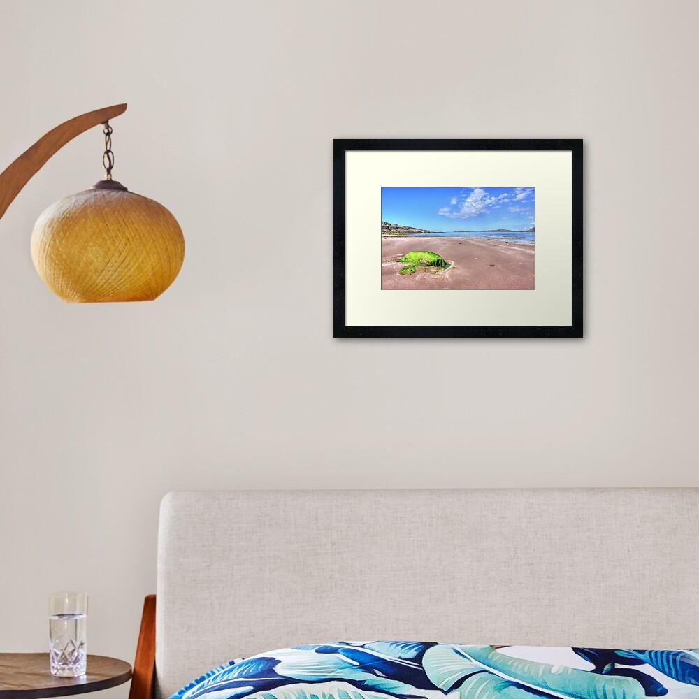 Clashnessie Beach Framed Art Print