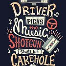 Driver picks the music by Risa Rodil