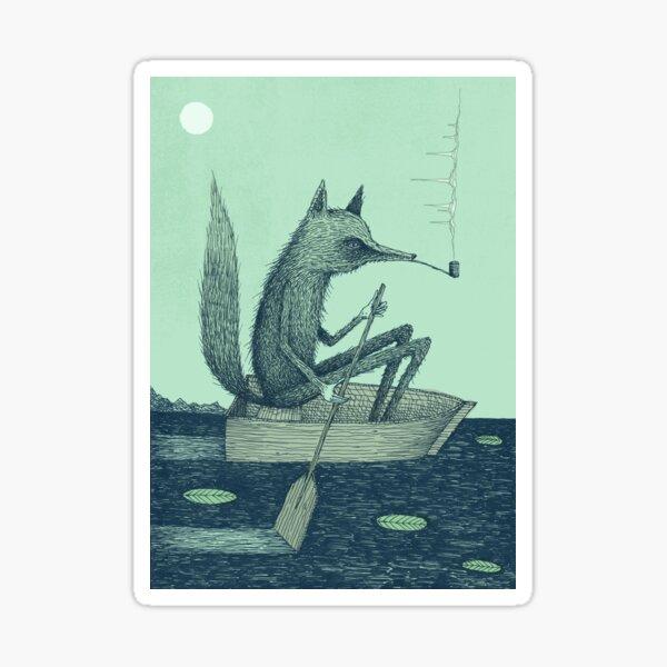 Across The Lake (Colour) Sticker
