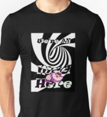 Cheshire Cat We're All Mad  Unisex T-Shirt