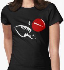 P40 Warhawk Shark mouth Womens Fitted T-Shirt
