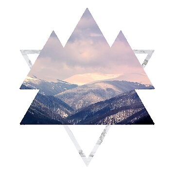 Geometric Mountains by chasensmith