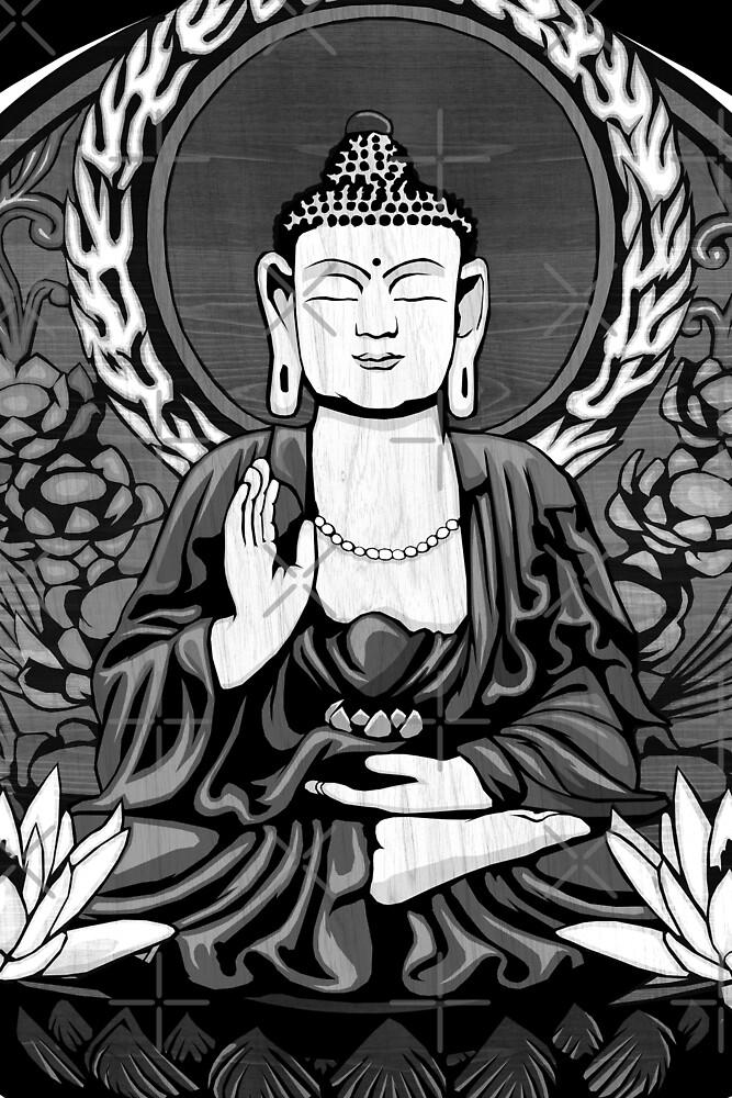 Gautama Budda Crop by GrizzlyGaz