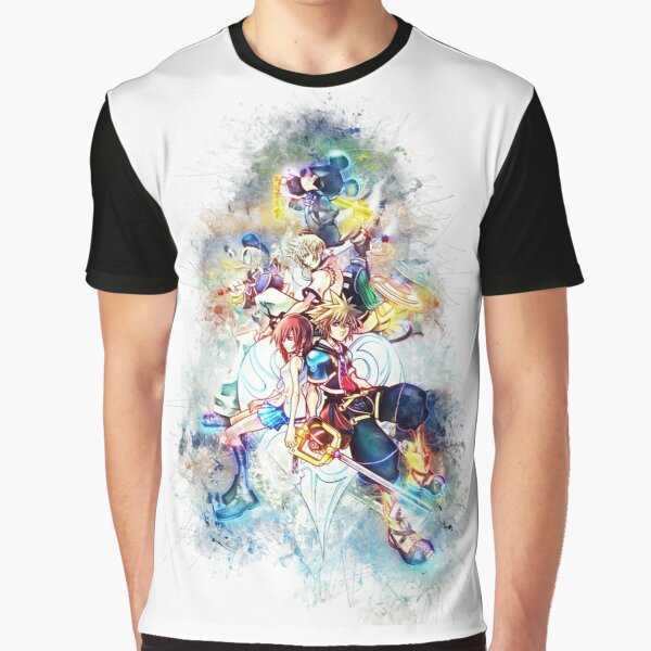 Kingdom Hearts Family Graphic T-Shirt