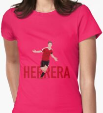 Ander Herrera - Manchester United FC Womens Fitted T-Shirt