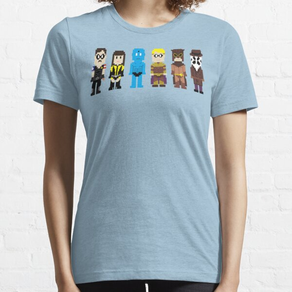 8-Bit Super Heroes 4: The Watch Guys Essential T-Shirt