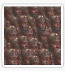 Crying MJ Face Meme Sticker